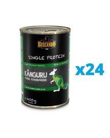 BELCANDO Single Protein Kangur 24x400 g mokra karma dla psa