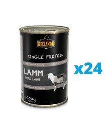 BELCANDO Single Protein Jagnięcina 24x400 g mokra karma dla psa