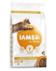 For Vitality Hairball 1.5 kg sucha karma dla dorosłych kotów, eliminacja kul włosowych