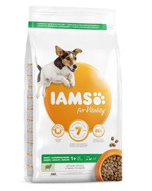 For Vitality Adult Small & Medium Breed Lamb 3 kg