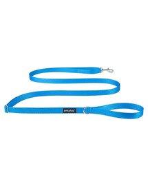 Basic Smycz regulowana Easy Fix S 160-300 x 1cm Niebieski