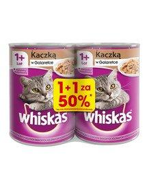 Adult puszka 24x400g - mokra karma dla kotów z kaczką w galaretce (12szt. za 50%)