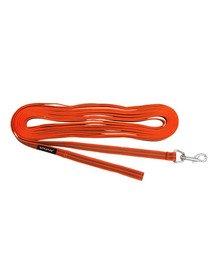 Rubber Smycz treningowa S-M 1000 x 1,6cm Pomarańczowy