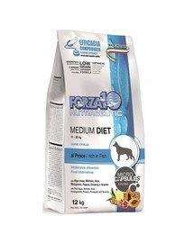 Medium Diet z rybą hipoalergiczna sucha karma dla dorosłych psów średnich ras 12 kg