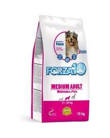 Medium Maintenance z rybą sucha karma dla dorosłych psów średnich ras 15 kg
