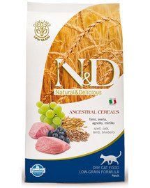 N&D low grain lamb & blueberry adult cat 1.5 kg