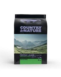 Country&Nature Lamb with Turkey Recipe 9 kg Karma dla psów ras małych i średnich Jagnięcina i Indyk