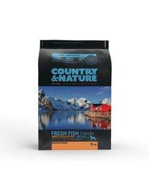 Oceanic White Fish Recipe 3 kg Karma dla psów ras średnich i dużych Ryby białe morskie
