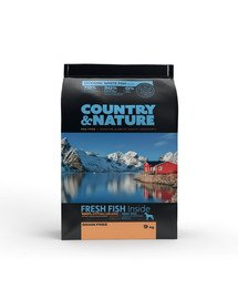 Oceanic White Fish Recipe 9 kg Karma dla psów ras średnich i dużych Ryby białe morskie