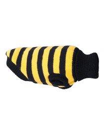 Glasgow Sweterek dla psa 19 cm Paski żółte