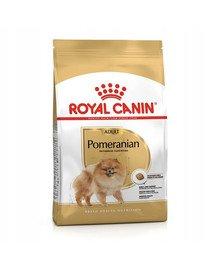 Pomeranian Adult 500 g karma sucha dla psów dorosłych rasy szpic miniaturowy