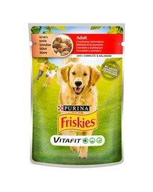Vitafit Adult z wołowiną i ziemniakami w sosie 100g mokra karma dla psów