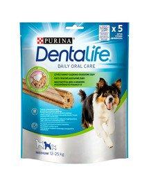 Dentalife Medium 115g (5szt.) przysmaki stomatologiczne dla dorosłych psów średnich ras