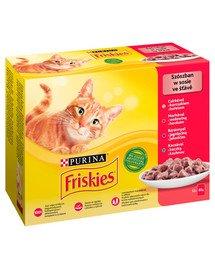 Mix mięsny Mulipack 12x85g mokra karma dla kota