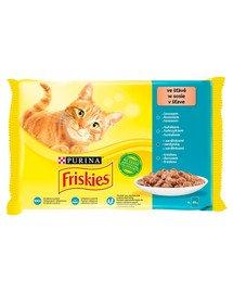 Ryba Multipack 4x85g mix smaków rybnych - mokra karma dla kota