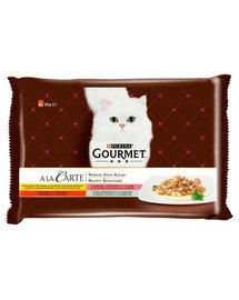 a La Carte kolekcja przepisów szefa kuchni 4x85g mokra karma dla kotów