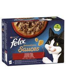 Sensations Sauce Wiejskie Smaki w sosie 72x85g mokra karma dla kota