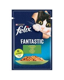 FANTASTIC Królik w galaretce 85g mokra karma dla kota