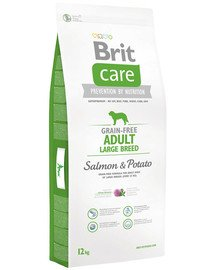 Care Grain-Free Adult Large Breed salmon & potato 12 kg