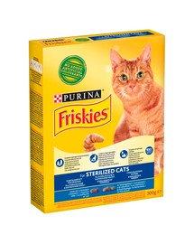 Sterilized z łososiem i warzywami 300g sucha karma dla kotów