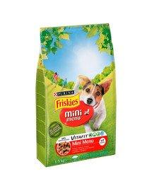 Mini Menu z wołowiną i warzywami 1,5kg sucha karma dla dorosłych psów małych ras
