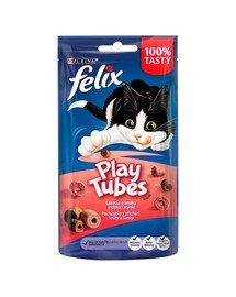 Play Tubes indyk i szynka 8x50 g