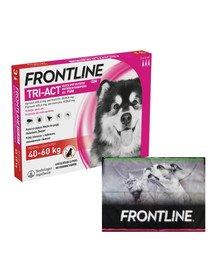 FRONTLINE Tri-Act przeciw pasożytom dla psów bardzo dużych XL (40-60 kg) 3 pipetki + ręcznik do łapek GRATIS