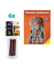 "SIMPLY FROM NATURE Naturalne cygara z koziną 6x3 szt. (5+1 GRATIS) + książka ""Podstawy szkolenia psa"" GRATIS"