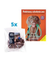 "SIMPLY FROM NATURE Naturalne kiełbaski z mięsem bażanta 5x200 g (4+1 GRATIS) + książka ""Podstawy szkolenia psa"" GRATIS"