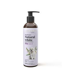 Natural White 250 ml szampon podkreślający jasny kolor sierści