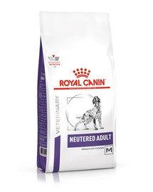 VHN Neutred Adult Medium Dog 9kg dla dorosłych psów ras średnich, po zabiegu sterylizacji, z tendencją do nadwagi i/lub wrażliwą skórą