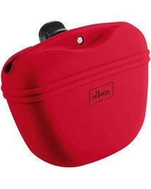 Lugo M Silikonowa torba na przysmaki czerwony