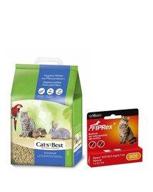 JRS Cat'S best universal 7l (4 kg) + VET-AGRO FIPREX SPOT ON kot 1 szt.