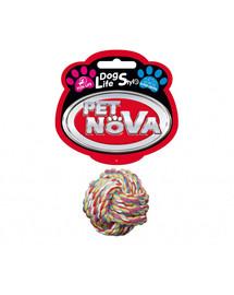 DOG LIFE STYLE Piłka-sznur bawełniana 5cm Superdental