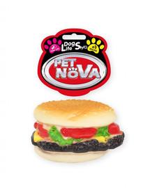 DOG LIFE STYLE Hamburger zabawka dla psa 9cm