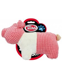 DOG LIFE STYLE Świnka 22cm zabawka pluszowa