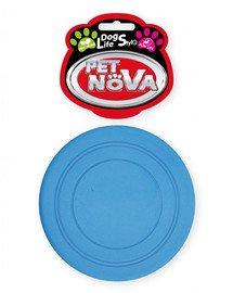 DOG LIFE STYLE Frisbee 18cm niebieskie, aromat mięta