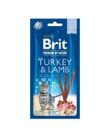 Premium by Nature Cat Sticks Turkey&Lamb 15 g