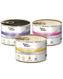 DOLINA NOTECI Junior Premium Mix smaków dla psów ras małych 12x185g
