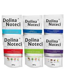 DOLINA NOTECI Premium Mix smaków 10x500g bez drobiu