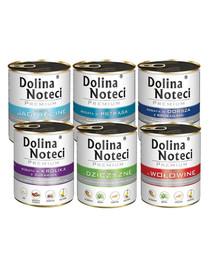 DOLINA NOTECI Premium Mix smaków 10x800g bez drobiu