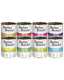 DOLINA NOTECI Premium Mix smaków 10x800g bez ryb