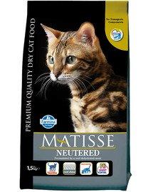 MATISSE Neutered 1,5 kg dla kastrowanych kotów