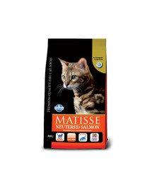 MATISSE Neutered 1,5 kg Łosoś dla kastrowanych kotów