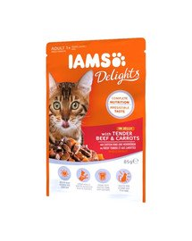 Cat Delights Beef & Carrots Jelly 85g
