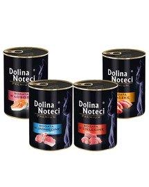 DOLINA NOTECI Premium Mix smaków dla kota 24x400g