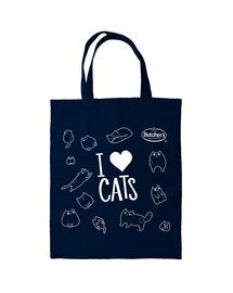 Torba bawełniana I love cats