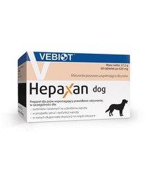 Hepaxan dog 60 tab. tabletki wspierające wątrobę dla psa