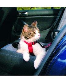 Szelki samochodowe dla kota