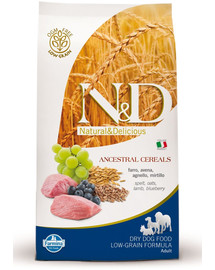 N&D low grain lamb & blueberry adult small dog 2.5 kg
